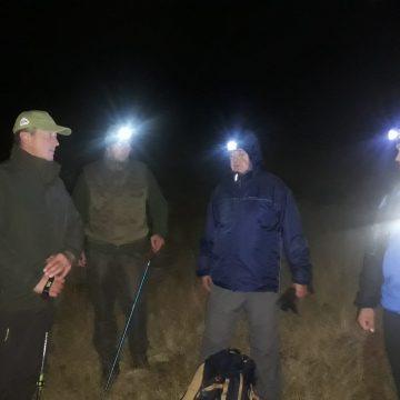 FOTO/VIDEO: Căutări pe timp de noapte a unui ieșean pierdut în Munții Rodnei