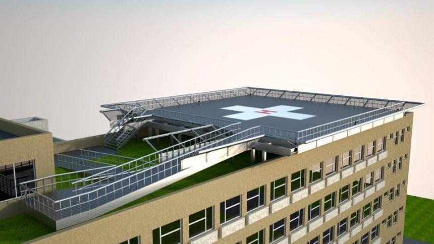 Când va ateriza primul elicopter SMURD pe acoperișul spitalului:
