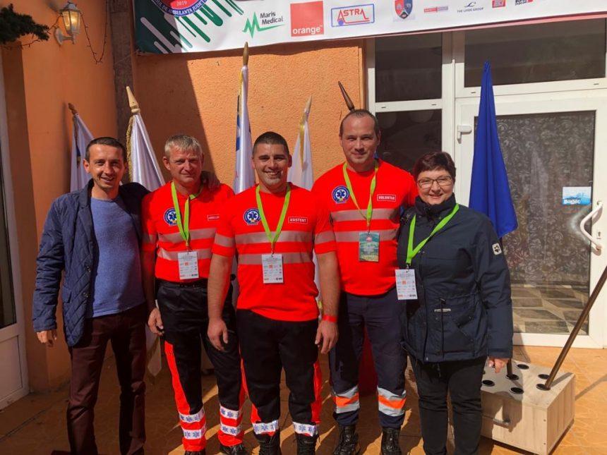 Bistrițenii, pe mâini bune! Echipaj SAJ BN, loc fruntaș la Concursul Național al Echipajelor de Ambulanță