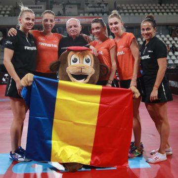 """""""Minunea"""" tenisului de masă, formată la Bistrița, campioana Europei pentru al doilea an consecutiv"""