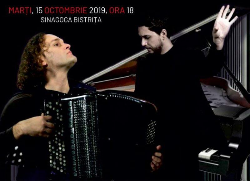 Recital extraordinar Eduard Kunz, la Bistriţa!