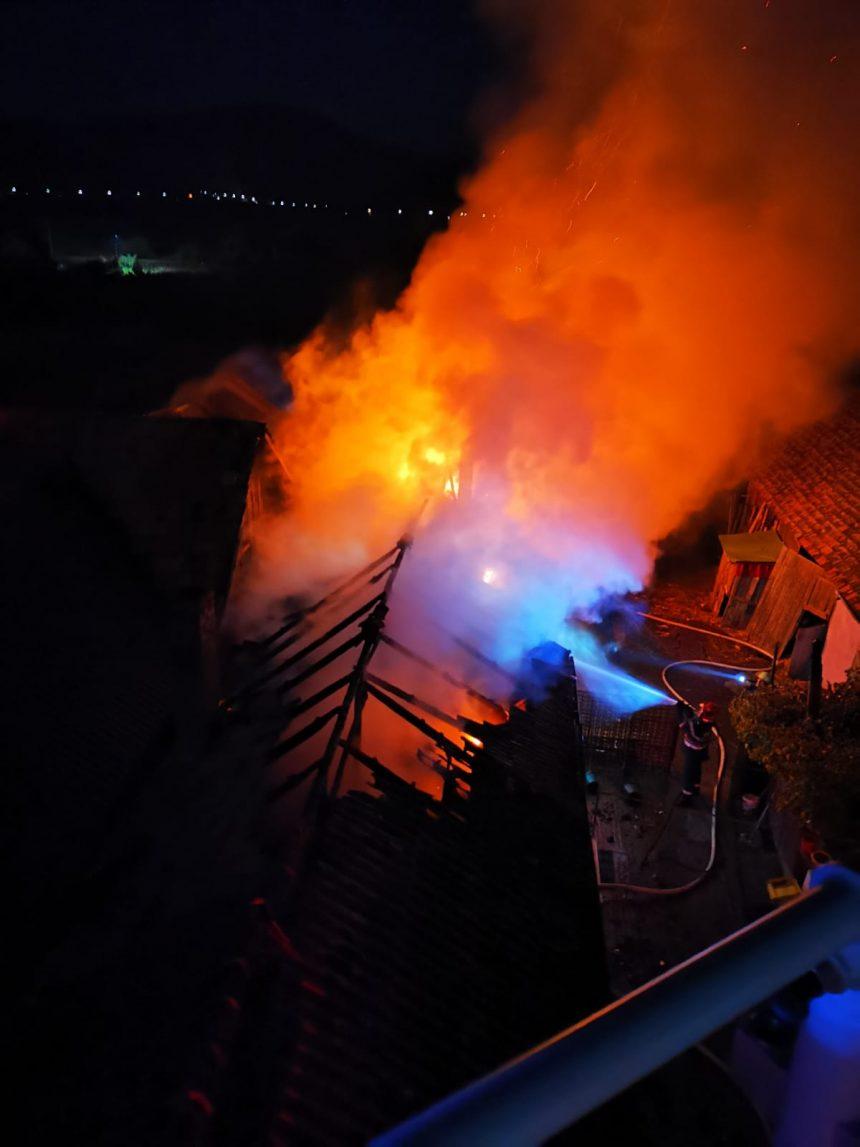 FOTO: Tragedie evitată la Măgheruș datorită mobilizării localnicilor