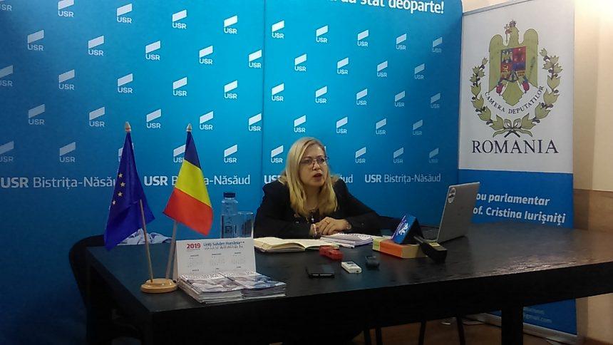USR jubilează după trecerea moțiunii de cenzură. Deputatul Cristina Iurișniți compară Guvernarea PSD cu o tumoare malignă