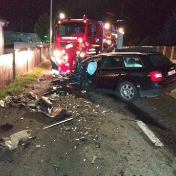 FOTO – GRAV accident la Prundu Bârgăului: un tânăr a murit, alte 6 persoane au fost rănite
