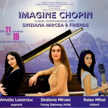 VIDEO:  Cele mai frumoase creaţii semnate de Chopin – luni, la Bistriţa!