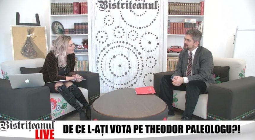 De ce nu s-a înscris Theodor Paleologu în partidul care, culmea, îl susține la alegerile prezidențiale?