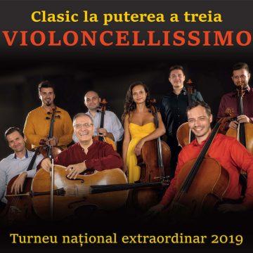 """O familie fericită şi mereu surprinzătoare: Violoncellissimo. Din finala """"Românii au talent"""", la Bistriţa"""