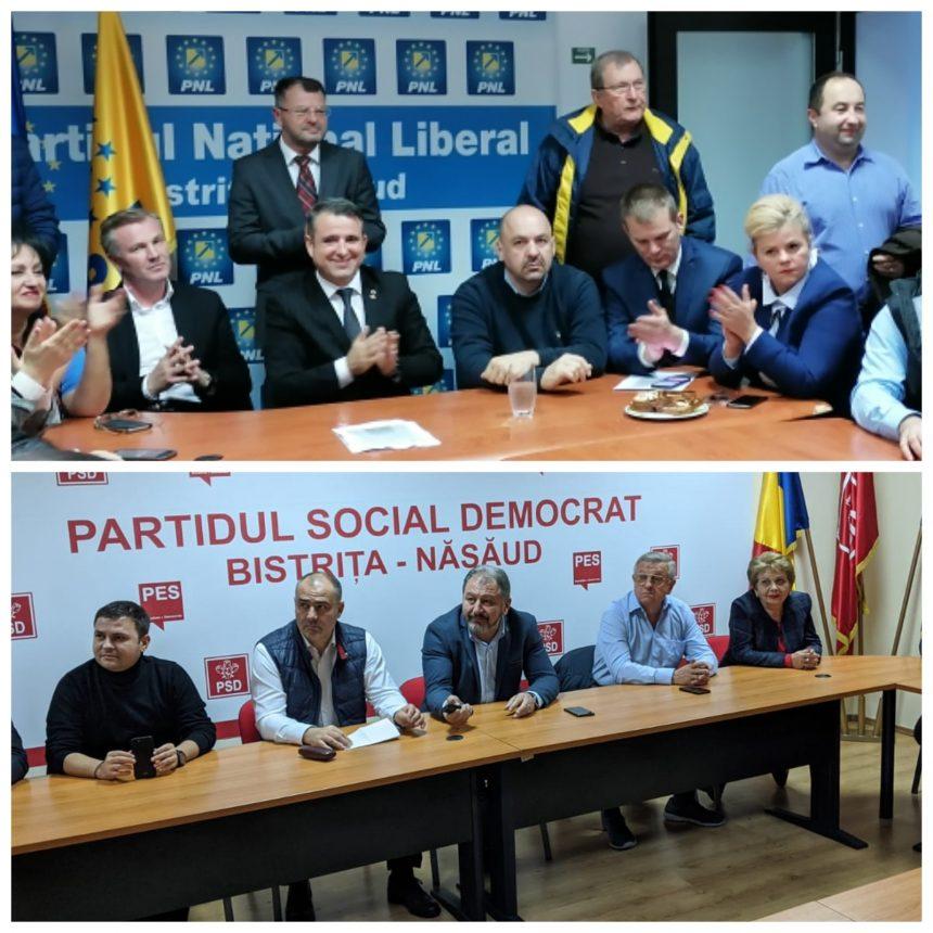 VEZI reacția celor de la PNL și PSD la aflarea rezultatelor Exit Poll-ului: