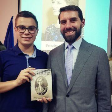Cartea unui tânăr bistrițean a ajuns și în mâna Principelui Nicolae al României