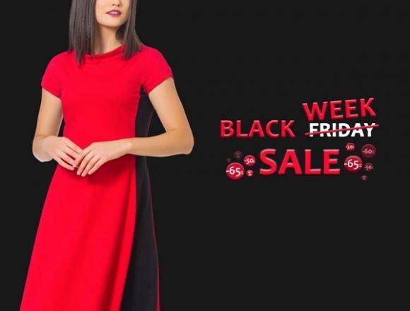 Black Friday, cu reduceri de până la 65%, în magazinele Sense!