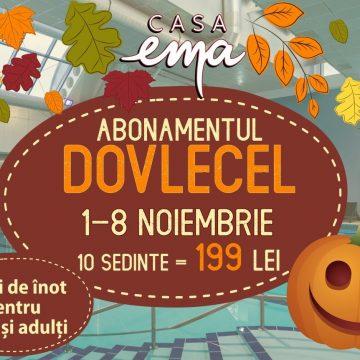 Astăzi este prima zi a promoției Abonamentul Dovlecel, la Casa EMA!