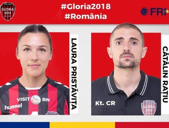Coordonatorul de joc și fizioterapeutul echipei de handbal Gloria 2018, la Campionatul mondial din Japonia