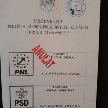 Liberalii acuză: Ștampila ANULAT a fost pusă pe numele lui Klaus Iohannis!