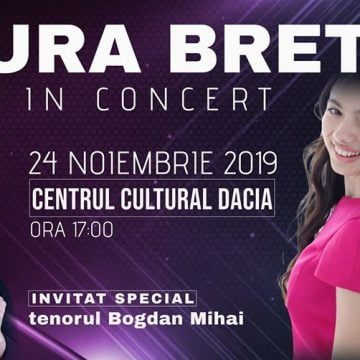 VIDEO:  Laura Bretan, admirată de zeci de milioane de oameni din întreaga lume, susţine două concerte mâine, la Bistriţa!
