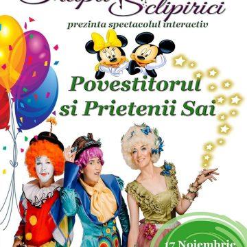 EXTRA. Sclipirici: spectacol interactiv la Dacia, cu zâne și tărâmuri magice!