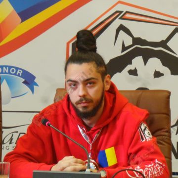 FOTO/VIDEO: Bistriţeanul Bogdan Berende, de trei ori campion european, comparat cu un bolid Ferrari