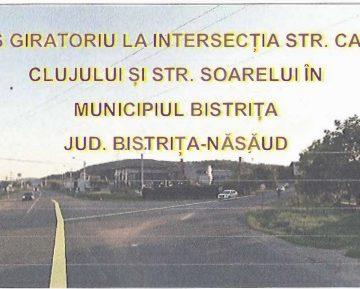 """SCANDAL din cauza sensului giratoriu de la intersecția ce duce spre Sigmir: """"E prea scump!"""""""