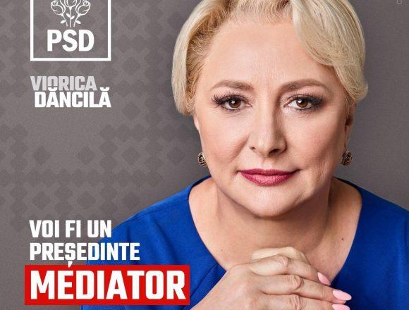 ALEGERI 2019: Viorica Dăncilă: Democrația înseamnă dezbatere. Klaus Iohannis sfidează românii