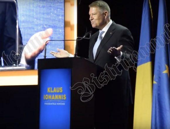 VIDEO – Klaus Iohannis: PNL BN, ați câștigat bronzul! Vreau să câștigați atâtea primării încât sediul să vă fie neîncăpător!