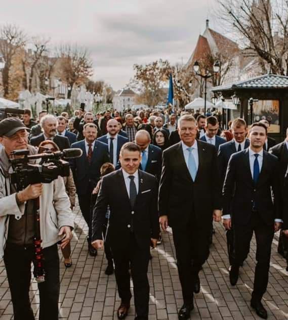 10 chestii pe care nu le știi din vizita președintelui Iohannis la Bistrița