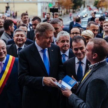 SURPRIZĂ: Vine Iohannis la Bistrița!
