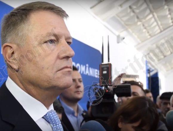 FOTO/VIDEO – Klaus Iohannis: Nu vreau dezbatere cu doamna Dăncilă! Sunt în război cu PSD!