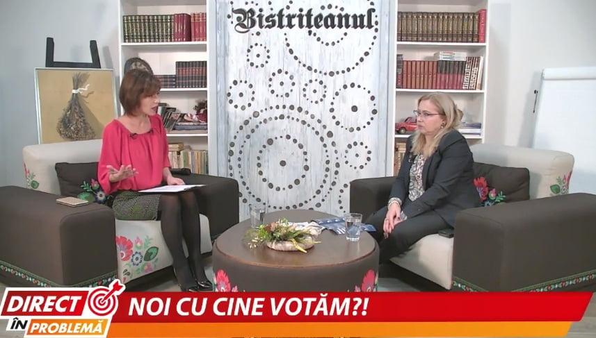 """VIDEO – Cristina Iurişniţi, deputat USR: """"Prezenţa la vot este definitorie"""""""