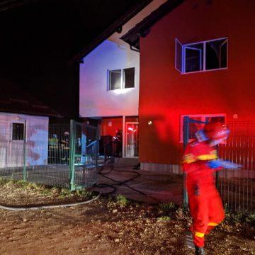 Adolescentul ce a dat foc la casă, azi noapte, reținut!