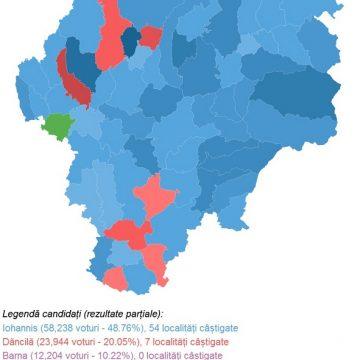 OFICIAL – Și județul nostru i-a trimis pe Iohannis și pe Dăncilă în turul II! CUM au votat bistrițenii: