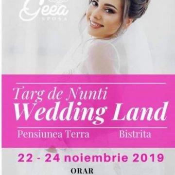 TOT ce ai nevoie pentru o nuntă perfectă găsești la Târgul de Nunți – Wedding Land Bistrița!