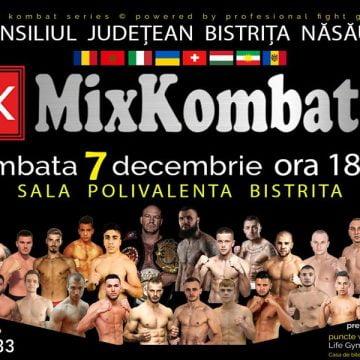 VIDEO: Gala Mix Kombat, în 7 decembrie, la Sala Polivalentă din Bistriţa!