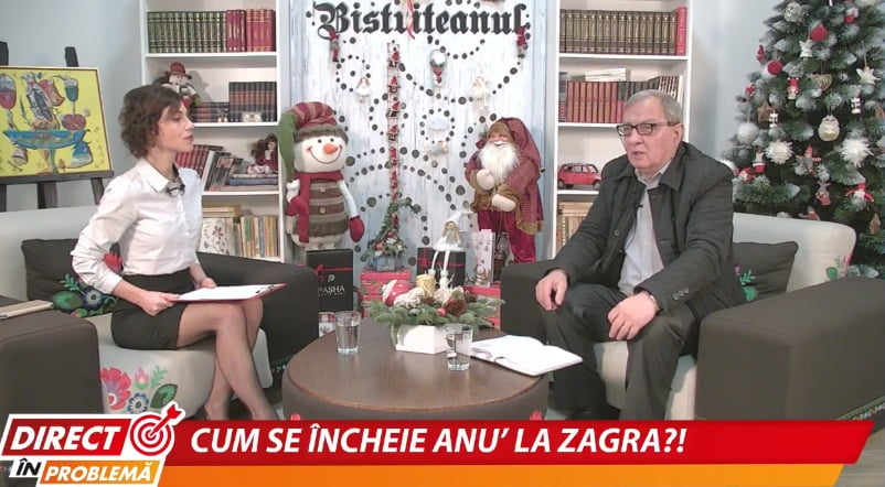 """VIDEO:  Obiectivele anului 2020, la Zagra. Primarul Dumitru Buşcoiu: """"Am fost zgârcit, nu am făcut risipă"""""""