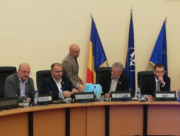 FOTO: Ce cadou a primit primarul Crețu de la localnicii din Slătinița