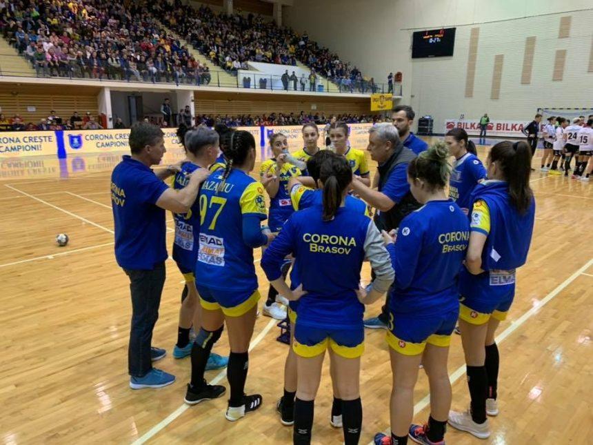 """Corona Brașov, exclusă din cupa EHF! """"Soarta"""" Gloriei încă nu se cunoaște"""