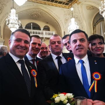 Liderul PNL Bistriţa-Năsăud Ioan Turc, invitat la dineul oferit de Klaus Iohannis, de Ziua Naţională a României