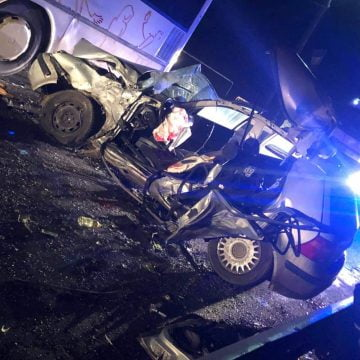 FOTO/VIDEO: GRAV accident în Josenii Bârgăului! Un polițist a decedat