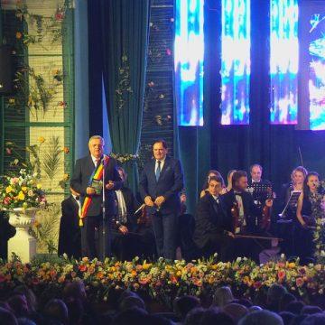 FOTO/VIDEO:  Viena, din nou la Bistrița. Ultimul concert de Bobotează pentru primarul Ovidiu Crețu