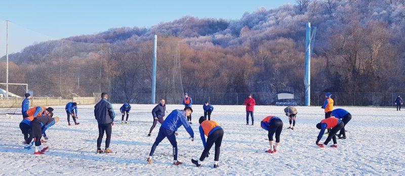 FC Gloria a câștigat primul meci amical cu 3-2 contra Minerului Baia Mare