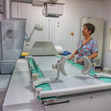 CADOU de Anul Nou la spital: Aparat cu raze X, digital, în valoare de peste 200.000 de euro