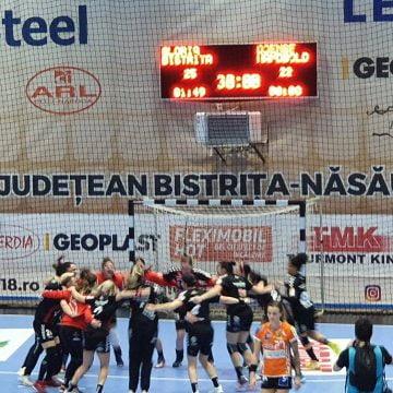 Cupa EHF: Gloria Bistrița – Odense Handbold 25-23 (13-12): O victorie cât toată Liga Florilor