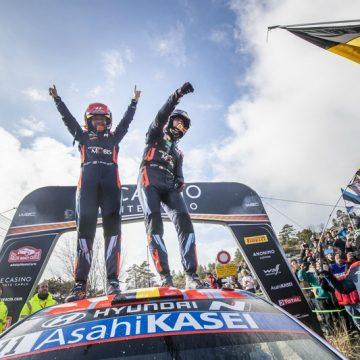 Hyundai Motorsport a triumfat în Raliul Monte-Carlo