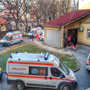 Crăciun și Revelion la Ambulanță: 86 de intervenții, pe zi!