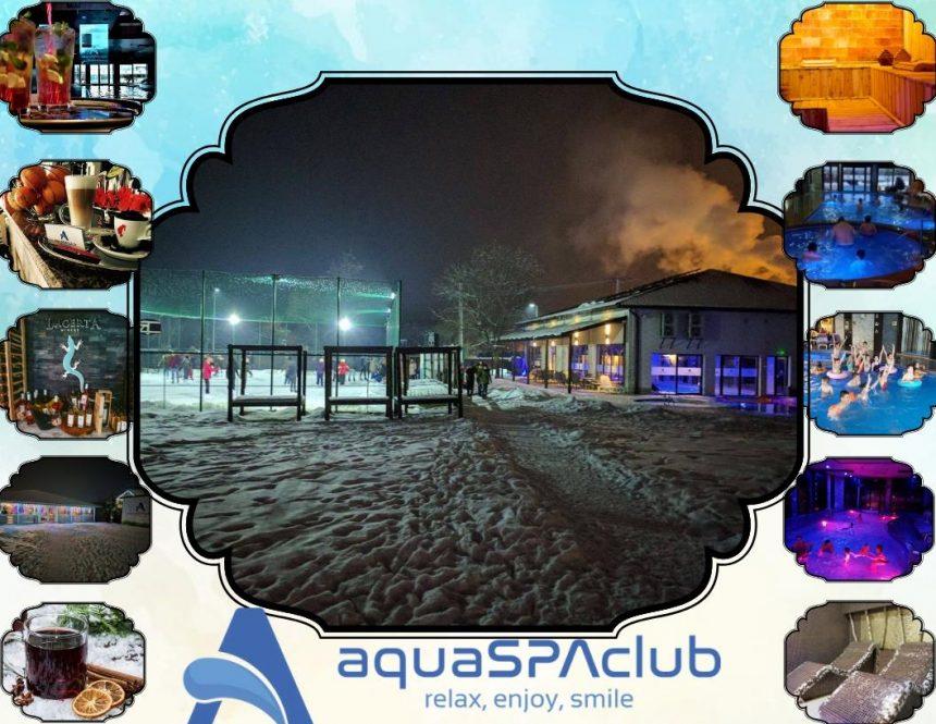 PRUNDU BÂRGĂULUI: S-a deschis patinoarul AquaICE! Liber la distracție pe gheață!
