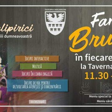 INEDIT! Family Brunch: Evenimentul special prin care Taverna Dogarilor propune familiilor un mic dejun târziu