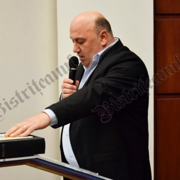 VIDEO: Călin Sbîrciu, învestit în funcția de consilier județean