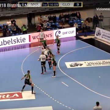 Primul meci din Cupa EHF: Frumos meci al fetelor noastre, finalizat cu egalitate