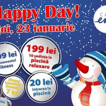 Primul Happy Day din 2020, cu abonamente disponibile și online!