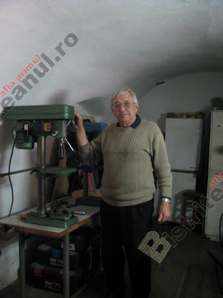 S-a stins o legendă a Bistriței: Martin Ohler, meseriașul din Sugălete specializat în mecanică fină