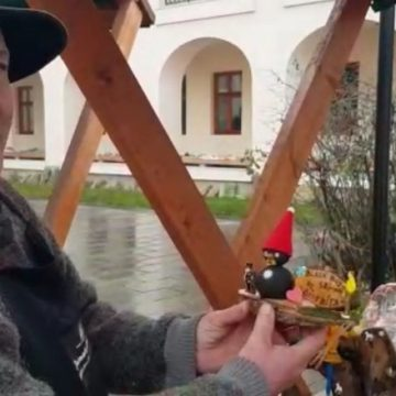 FOTO:  Pârtia Cocoș a devenit sursă de inspirație pentru artiști