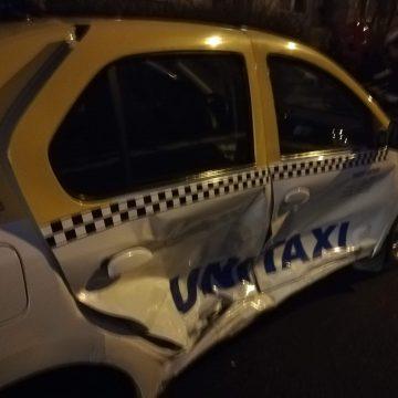 FOTO/VIDEO: Un moldovean rupt de beat a lovit un taximetru